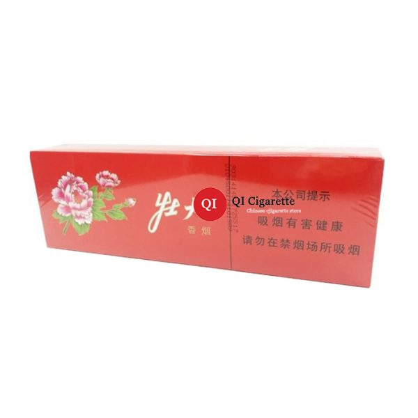 peony red soft cigarette